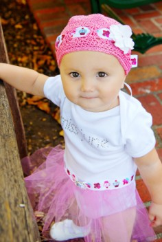 Miss Month Tutu Onesie