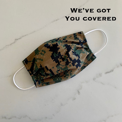 Limited Edition Woodland MARPAT Camo Protective Face Mask