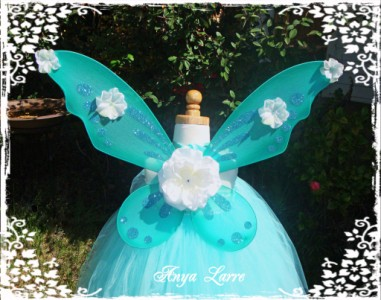 Aqua Fairy Wings