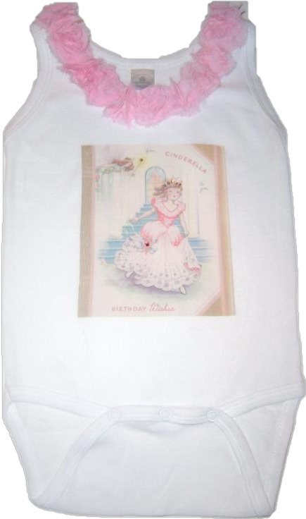 Cinderella Birthday Top