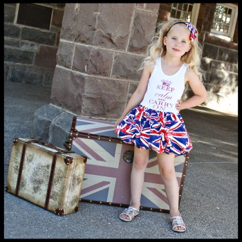 Keep Calm and Carry On Union Jack Bubble Dress
