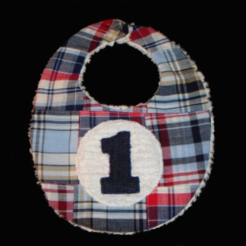 Madras Party Bib