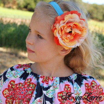 Oak Hill Flower Headband