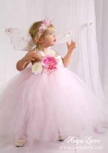 Pink Whisper Fairy Gown